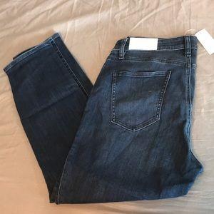 NWT Ann Taylor Dark 5 Pocket Skinny Jean